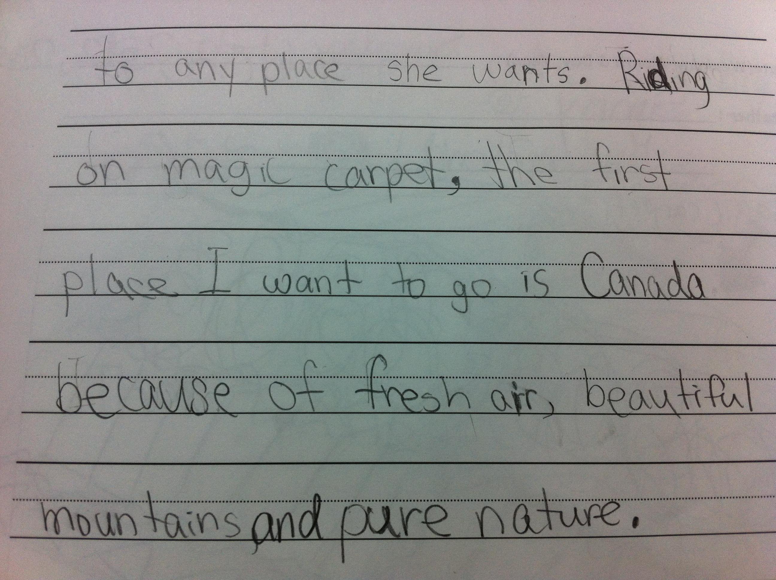 Q. How do I write a journal entry?
