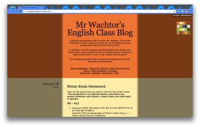 wachtor's blog