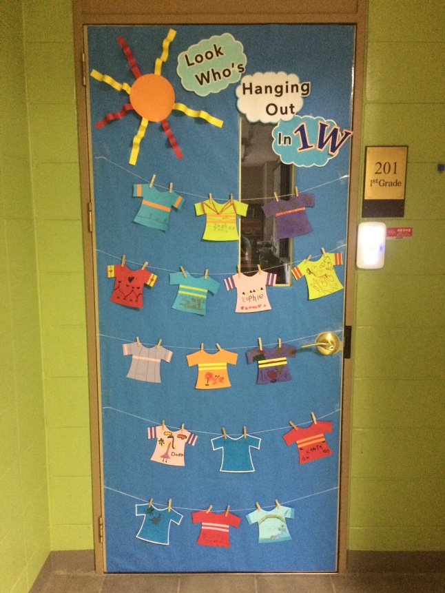 Classroom Door Ideas For Back To School ~ Back to school door decorating ideas two apples a day