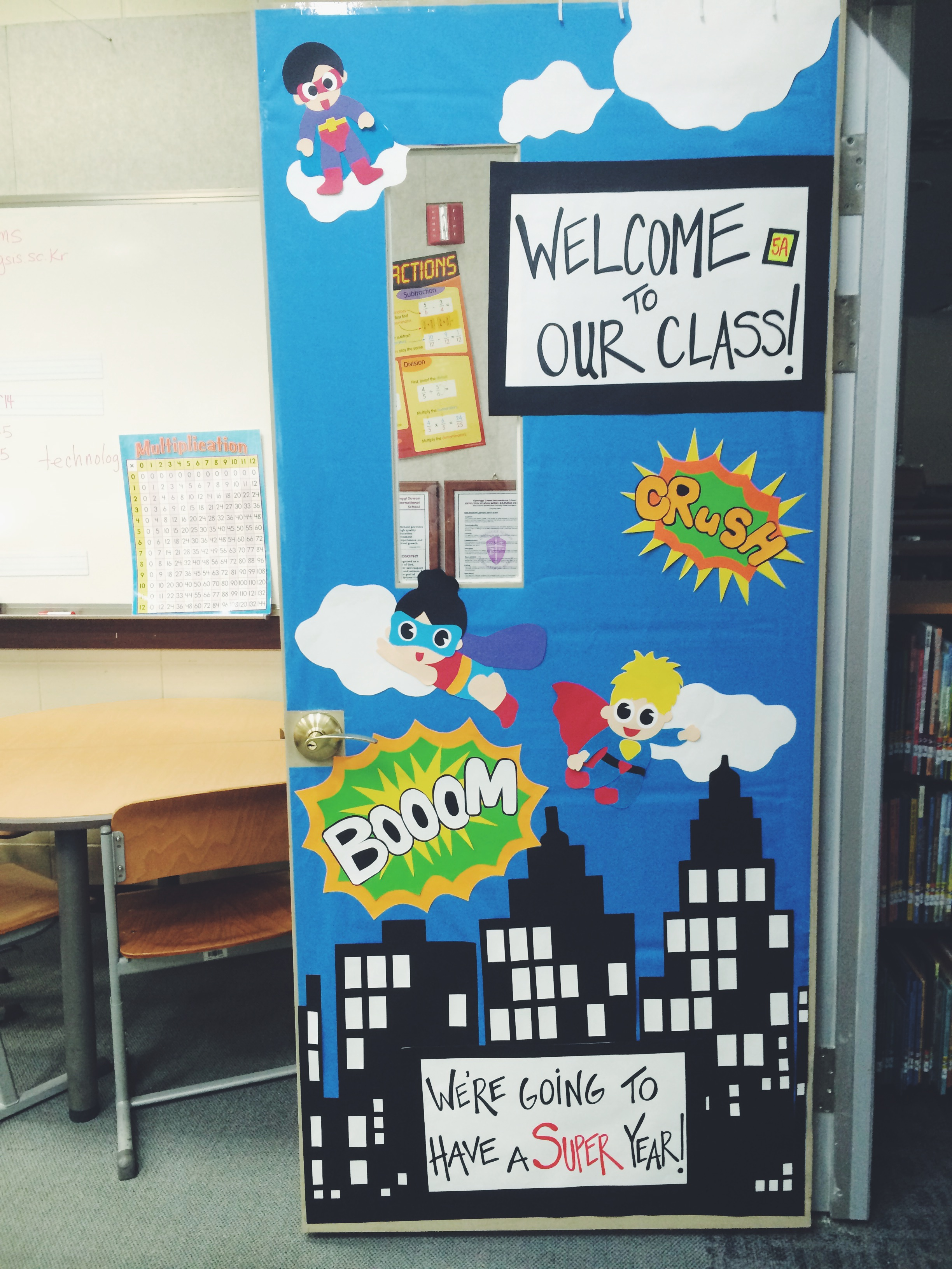 Back to school door decorating ideas two apples a day for Back to school decoration ideas