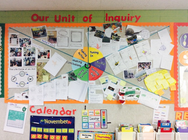 Classroom Action Research Design ~ The inquiry cycle on display two apples a day